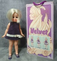 Vintage 1970 Near Mint in Box! Ideal Toys Crissy's Cousin Velvet Grow Ha... - $99.99