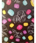 LANCOME Reverable Reusable Shopping Tote Bag  Hot Pink Black  Paris C'es... - $18.99