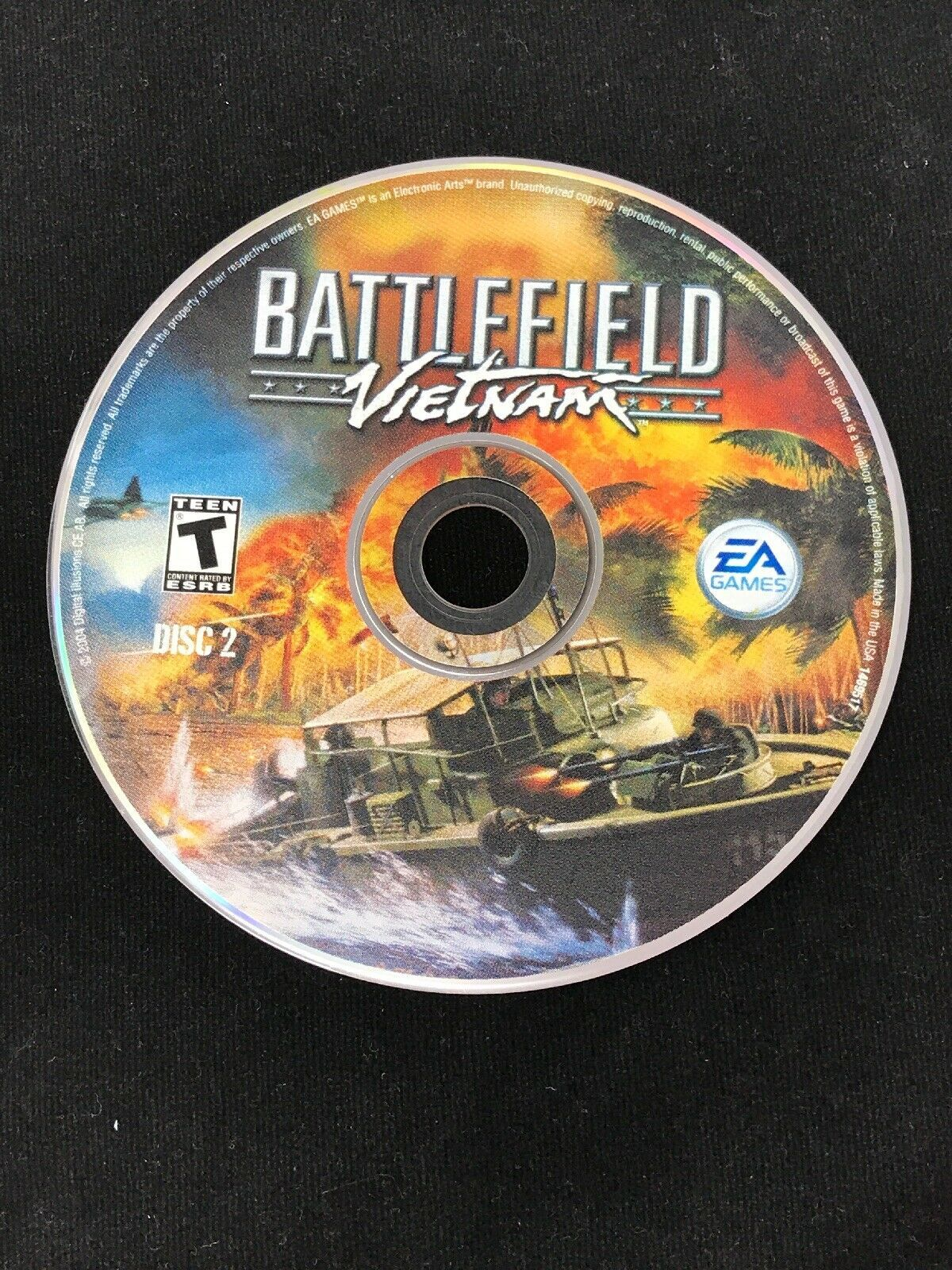 Battlefield Vietnam - PC 3 CD Computer Video Game w/ Key Code from EA Games