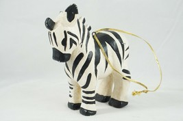 "House Of Hatten Handcrafted Decor Figurine Ornament Decorations Zebra 4""... - $14.03"