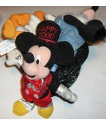 Walt Disney World **Mickey Mouse & Friends** in a New Year's 2000 Shiny Hat - $9.89