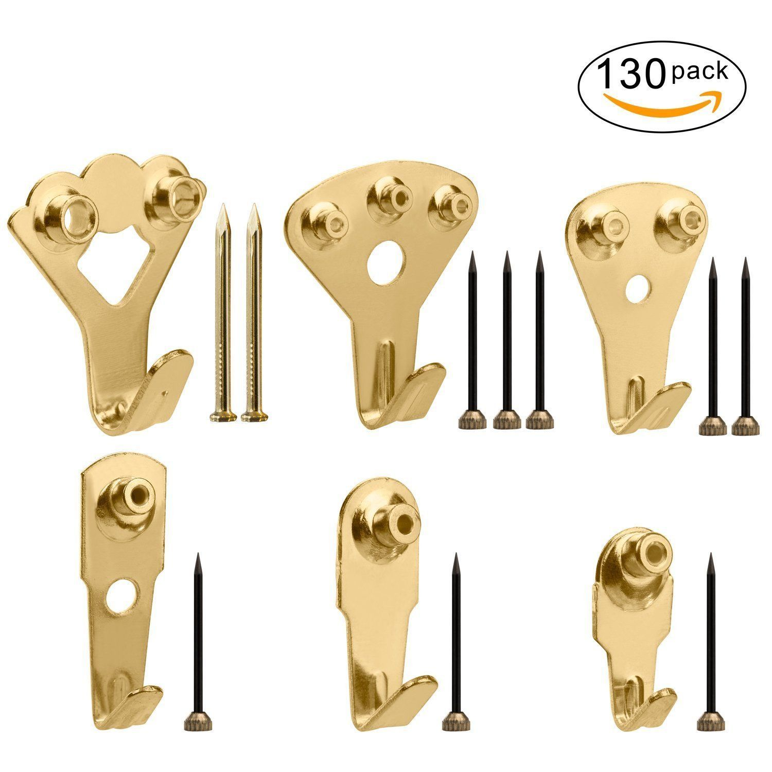 130 Pieces Coat Hooks Wall Mounted Robe and 14 similar items