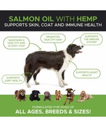Dogs Joint/Immune Support  Pure Wild Alaskan Salmon Oil Hemp Vitamin 16 oz - $26.07