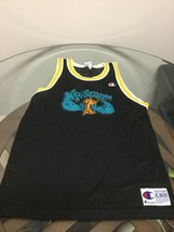 Space Jam Monstars Black Champion Jersey Youth XL 18-20 Rare Original - $64.34