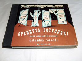 Columbia Records Marek Weber Orquesta Operetta Popurrí Record Álbum Jueg... - £11.30 GBP