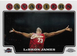 LeBron James Topps Chrome 08-09 #23 Cleveland Cavaliers Los Angeles Lake... - $7.00