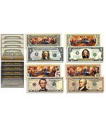 The Declaration of Independence 2-Sided U.S. Bills $1 $2 $5 $10 * SET OF... - $1.296,55 MXN