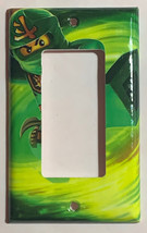 Ninjago LLOYD green Light Switch Outlet duplex wall Cover Plate Home Decor image 3