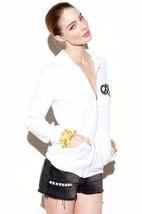 LAUREN MOSHI VINTAGE Alligator Back Print HOODIE Fleece ZIP Sweatshirt J... - $129.97