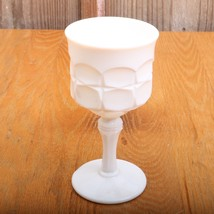 Indiana Tiara Constellation Milk Glass Tall Gob... - $23.36