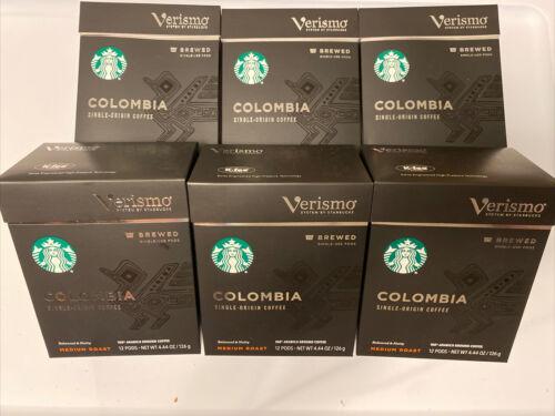 Starbucks Verismo Colombia Brewed Coffee Single-Serve Verismo 72 Pod  BB 12/20 - $178.19