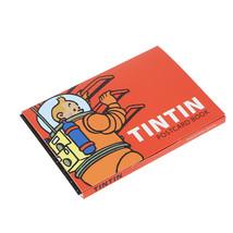 Tintin Moon adventure 16 postcards booklet image 2