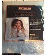 Sleepy's Home Collection Light Gray King Duvet Cover NIB - $22.76