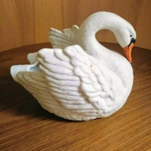 White Swan Ceramic Planter #3274 by NAPCO   Indoor or Outdoor Planter  image 2