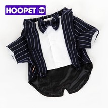HOOPET® Pet Dog Suit Jacket Striped Clothes Cool British Style - $34.81+