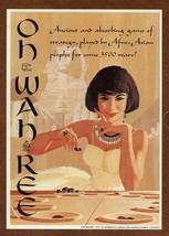 Vintage 1962 OH WAH REE 3M Board Game Complete - $18.69