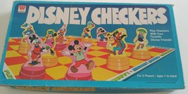 Vtg 1977 Walt Disney Mickey Mouse Checkers Board Game  - $29.40