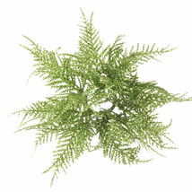 Fern Candle Ring Glitter Green, 8 X 3.5 Inches - $15.00