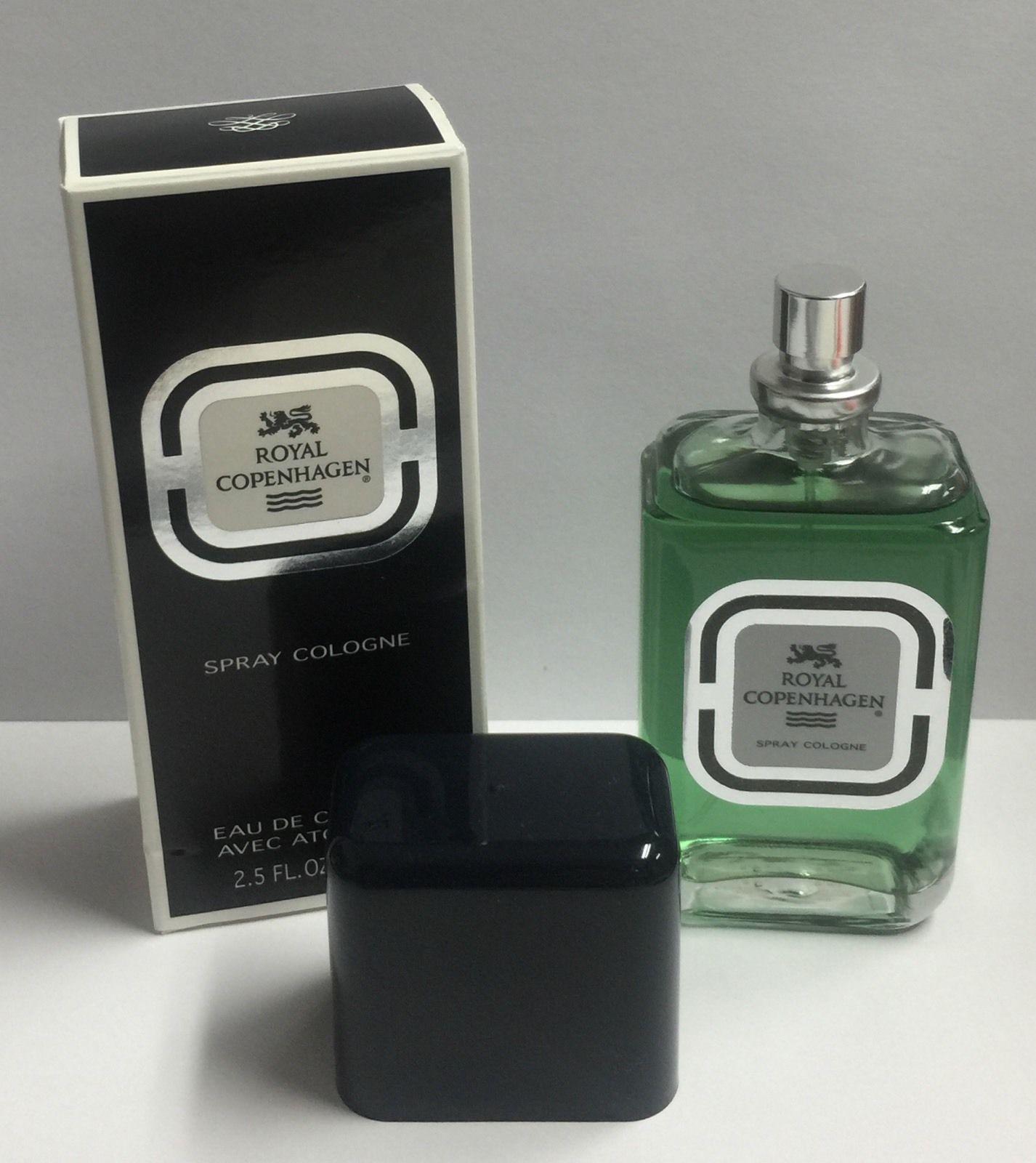 Royal Copenhagen EDC Spray Cologne 2.5 oz/ 75 ml MEN, New in box & Sealed.