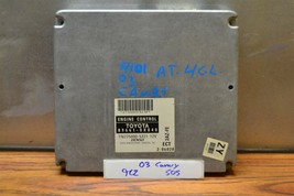 2003 Toyota Camry 4 Cyl AT Engine Control Unit ECU 896610X040 Module 05 9C2 - $9.89