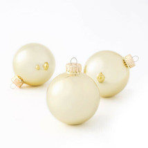Darice Christmas Bulbs: Shiny Gold, 67mm, 8 pieces w - $9.99