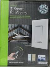 GE ZW4002 In Wall EZ Smart Fan Control Indoor Outdoor Wireless Z Wave PLUS image 1