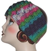 Colorful Headband Ski Gear Head Band Ear Warmer Magenta Blue Turquoise - $16.00