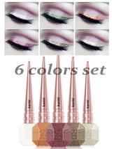 Kiss Beauty Glitter Eyeliner Waterproof 6 Colors SET - $14.84