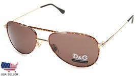 New D&G Dolce&Gabbana Basic 33 Tortoise /BROWN Lens Sunglasses 56-18-140 B47mm - $73.26