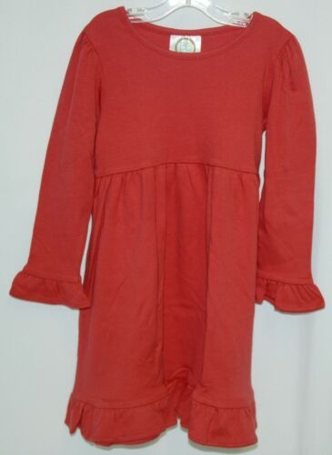 Blanks Boutique Long Sleeved Color Red Ruffle Dress Size 3T