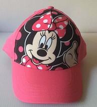 Disney Minnie Mouse Cap Pink & Black New - $15.83
