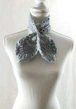 Neck Warmer. Lace, Crochet, Knit, Lariat, Tie, Handmade, Gift - $20.00