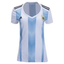 Argentina National Soccer Team Jersey Women's Size L Adidas BQ9302 - $79.19