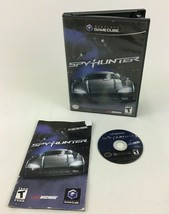 Spyhunter Nintendo Game Cube Video Game Midway T Rated Complete with Man... - $9.85