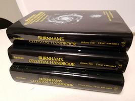 Burnham's Celestial Handbook, An Observers Guide 3 Volumes 1,2,3 HC 1978 - $25.00