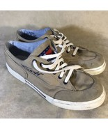 Tommy Hilfiger Canvas Shoes Tan Men's Size 9 - $17.81