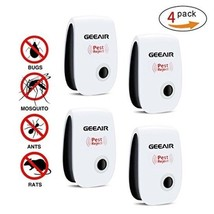 4pcs Ultrasonic Electronict Pet Repeller Reject Anti Mosquito Pest Bug - $17.21