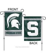 """Michigan State Spartans 12"""" x 18"""" Premium Decorative Garden Flag - $14.95"""