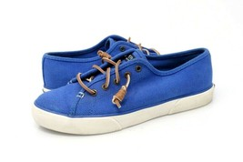 Sperry Top-Sider Womens 8 M Sneakers Shoes Blue STS95131 Low Top Lace Up  - $20.99