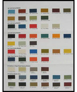 1974 Chevy Chevrolet Truck Paint Chip Color Chart Orig. - $8.53
