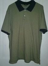 J CREW Mens Yellow & Blue Striped Short Sleeve Polo Shirt SZ XL EUC - LA... - $17.81