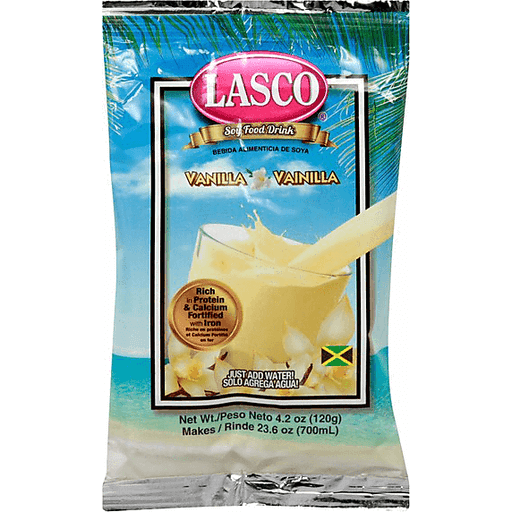 Primary image for Lasco Vanilla Food Drink 120g (Pack of 6)