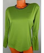 Arc'teryx Top Shirt Large Base Layer Athletic Green Long Sleeve Hiking O... - $31.18