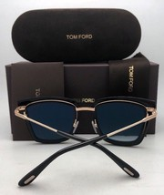 New TOM FORD Sunglasses ELISE-02 TF 569 28T 65-5 Gold Cat Eye w/Violet Pink Fade