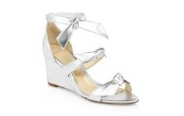 NEW Alexandre Birman Metallic Lolita Wedge Sandals (Size 39) - $625.00 - £97.70 GBP