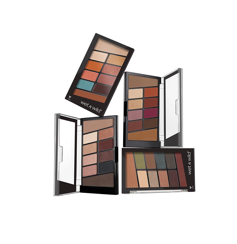wet n wild Color Icon Eyeshadow 10 Pan Palette, Nude Awakening, 0.3 Ounce