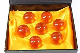 Dragonball Z Stars Crystal Glass Ball 7pcs with Gift Box, Large 42MM in ... - $15.29