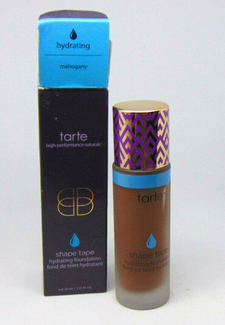 Primary image for TARTE SHAPE TAPE Hydrating Foundation Mahogany  1.01oz / 30ml NIB
