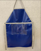 Apron, Heavy Duty Vinyl w/ Clear Pockets on The Front - Very High Quality - $17.66