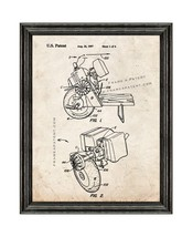 Goped Liquimatic Torque Convertor Patent Print Old Look with Black Wood Frame - $24.95+